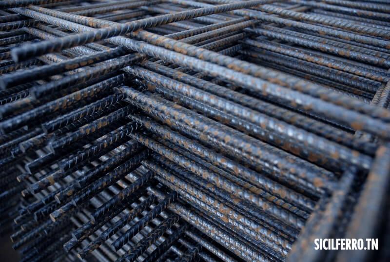 Sicilferro treillis soud s standards tunisie - Treillis soude pour dalle beton ...